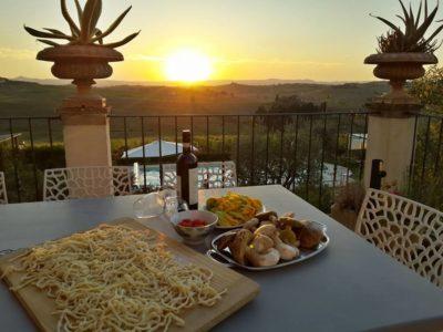 Private cooking class in villa